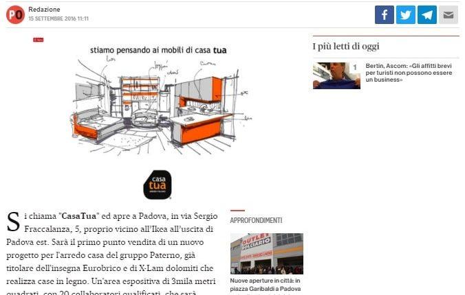 CasaTua a Padova Est Padova Oggi